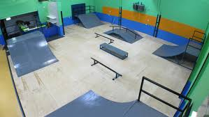 Best Interior Skate Park Images On Pinterest Skate Park - Backyard skatepark designs