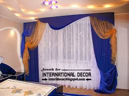 Bedroom Curtains Blue Latest Blue Curtains For Bedroom Double Curtain Rod Curtain Designs