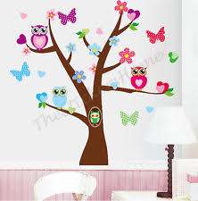 Owl Room Decor Girls Owl Bedroom Home Furniture U0026 Diy Ebay