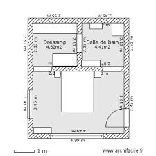 dressing chambre 12m2 plan chambre parentale avec salle de bain et dressing 10