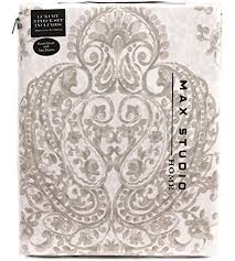 vintage medallion print duvet quilt cover damask paisley cotton