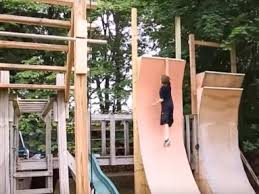 kids are loving these backyard diy ninja warrior courses