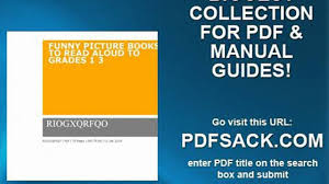 funny picture books to read aloud to grades 1 3 video dailymotion