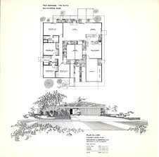 eichler home plans dc hillier s mcm daily the art of the eichler