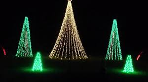 christmas christmas trees outdoor light displays tree lights led