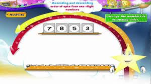 learn grade 1 maths ascending and descending order youtube