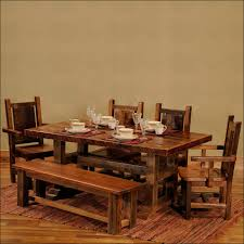 rustic dining room ideas kitchen popular rustic wood dining room table with warm and