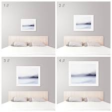 Coastal Bedroom Ideas by Ideal Art Size Above King Bed Modern Coastal Bedroom Decor Tips