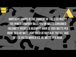 how much is a light bill how much power is 40 watts youtube