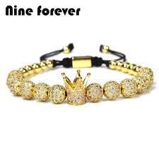 bracelet gold women images 1pcs new design women fashion cz imperial crown bracelets gold jpg