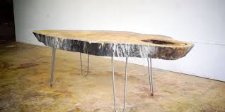 table coffee modern build a live edge modern coffee table from a slab of wood