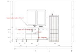 taille plan de travail cuisine projets impressionnant norme hauteur plan de travail cuisine pic sur