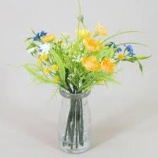 Artificial Lilies In Vase Silk Flower Arrangements Artificial Flower Vases