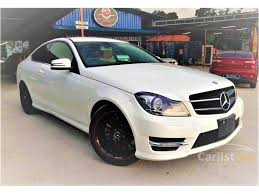 best mercedes coupe mercedes c180 2012 amg 1 8 in selangor automatic coupe white