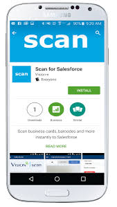 App For Scanning Business Cards C Install The Business Card Scanning App On My Phone
