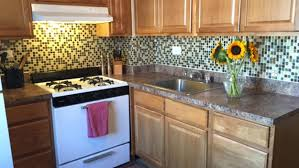 tile sheets for kitchen backsplash installing glass tile sheets