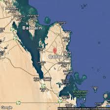 Doha Qatar Map How To Cycle In Qatar Usa Today