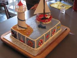 ideas for nautical baby shower cakes decorations