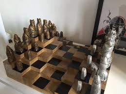 Diy Chess Set by 3d Chess Board 5 Steps With Pictures