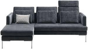 canape bo concept corner sofa contemporary leather fabric istra boconcept