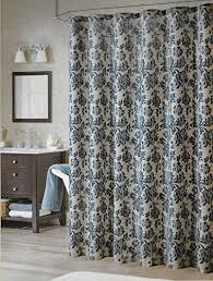 Amazon Com Shower Curtains - bombay floral blue shower curtain 70