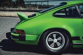 porsche 911 green 1974 porsche 911 carrera 2 7 is lime green dream for rm monterey