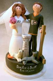 hockey cake toppers marvelous hockey wedding cake toppers photo ideas topper