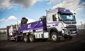volvo bus and truck jet plant hire takes five volvo fmxs and one fe commercial motor