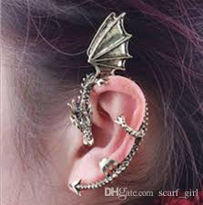 2018 2017 hot fashion ear winged earring cuff