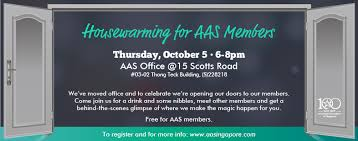 where to register for housewarming event housewarming for aas members