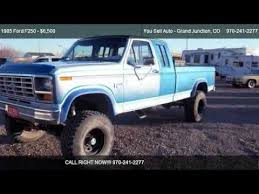 1985 ford f150 extended cab 1985 ford f250 lariat xlt for sale you sell auto grand