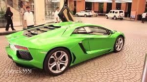 Lamborghini Veneno Roadster Owners - green lamborghini aventador lp700 4 owner taking it very easy