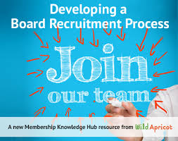 developing a board recruitment process wild apricot membership