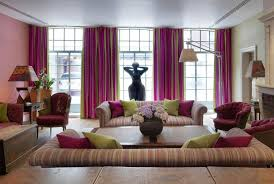 Curtains Pink And Green Ideas Best Green Purple Luxury Curtains For Living Room Ideas Modern