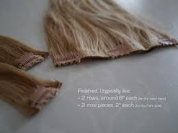 diy hair extensions diy tutorial clip in hair extensions the tale of two tingsthe