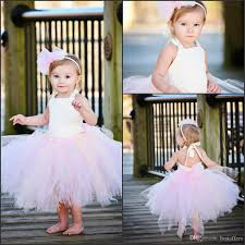 communion gowns lovely ivory and pink tutu flower girl dresses baby