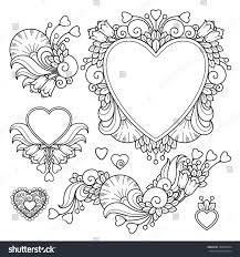 royalty free vector set love valentines day abstract u2026 360963524