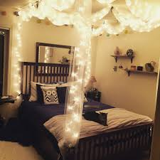 diy canopy bed diy canopy bed with lights varyhomedesign com