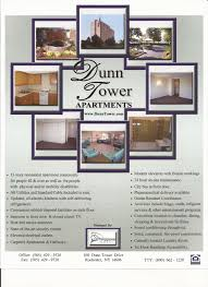 dunn tower i floor plans senior retirement apartments application process tenant profile sheet background check data reporting form suppliment to appplication know your rights floor plan