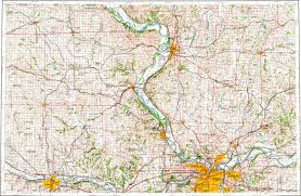 Map Of Ks Download Topographic Map In Area Of Kansas City Topeka