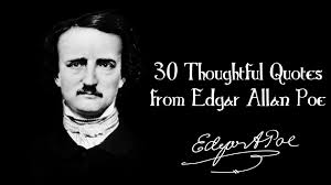 30 thoughtful quotes from edgar allan poe youtube