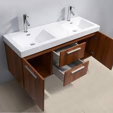 virtu usa midori 54 inch polymarble sink bathroom vanity