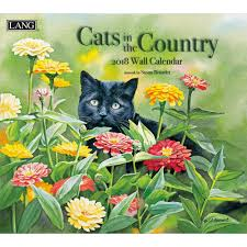 susan bourdet cats in the country wall calendar 2018 lang
