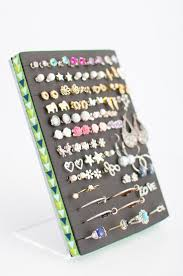 earring holder for studs best 25 earring holders ideas on diy earring holder
