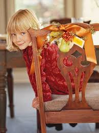 132 best thanksgiving decore images on chair backs