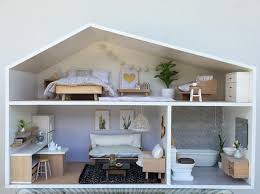 Dollhouse Modern Furniture by 164 Best Dollhouse Inspiration Images On Pinterest Dollhouses
