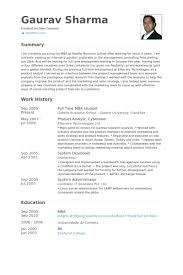 Mba Fresher Resume Sample by Mba Student Resume Samples Visualcv Resume Samples Database