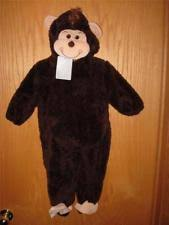 Infant Halloween Costumes 6 9 Months Koala Kids Plush Monkey Halloween Costume Brown 6 9 Month Boy