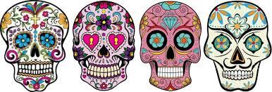 sugar skulls the day of the dead elizabeth galloway