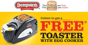 Arsenal Toaster Free Dempster Toaster W Egg Cooker 18 Shipping Redflagdeals